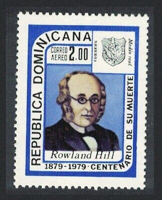 Dominican Rep. Death Centenary of Sir Rowland Hill 1v MNH SG#1373