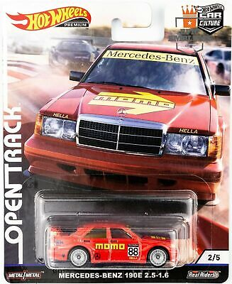Hotwheels 2019 Car Culture Open Track Mercedes Benz 190E  Alloys Rubber Tyres ``
