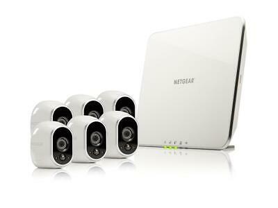 Arlo Smart Home Security Camera System - 6 HD, 100% Wire-Free, Indoor / Outdoor