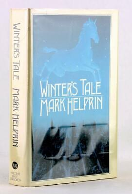 Magical Realism Mark Helprin First Edition 1983 Winter's Tale Hardcover w/DJ