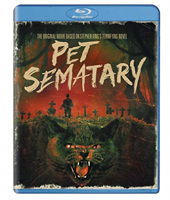 Pet Sematary (30th Anniversary Edition) BLU-RAY NEW