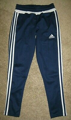 4cff4d5aa9c81 Adidas Climacool Youth Boys Girls Sweat Track Running Athletic Pants Size  Small