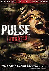 Pulse (DVD, 2006, Unrated Widescreen Edition) IN SLIM CASE, NO ART M1