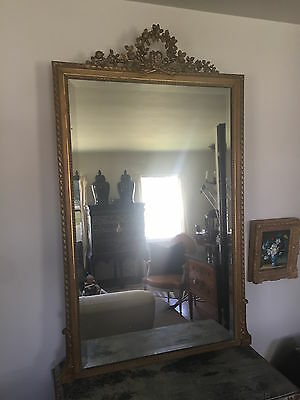 Giltwood Mirror French Louis XVI 19th Century