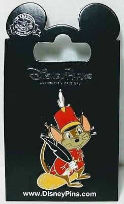 *BRAND NEW ON CARD* Disney Parks Exclusive Dumbo Timothy Q Mouse Pin