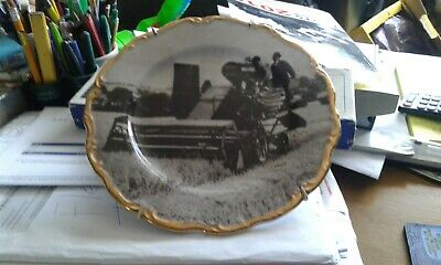 7inch wall plate Massey Harris combine harvester of 1948 era