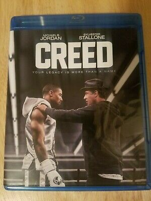 Creed Bluray/dvd With Free Digital Code For Creed Ii (Creed 2)