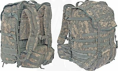 Army Digital ACU Large Ruck Sack MOLLE II Field Pack Backpack Complete w/ Frame