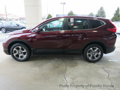 2019 Honda CR-V EX-L AWD EX-L AWD New 4 dr SUV CVT Gasoline 1.5L 4 Cyl Basque Red Pearl II