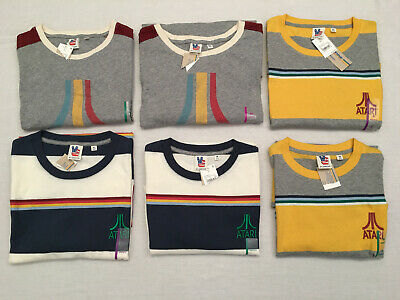 HI-SCORE by JUNK FOOD, Men's ATARI Graphic or Embroidered T-Shirts, Sizes M-XXL