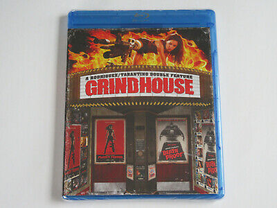 GRINDHOUSE (Blu-ray, 2-Disc Set, Special Edition) Quentin Tarantino NEW SEALED!!