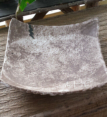 Older Unusual McCarty /McCartys Pottery Shallow Serving Bowl/Platter Mississippi