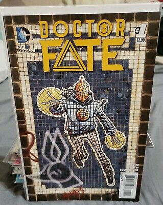 Doctor Fate #1 NM 2015 DC Comics 1st print movie 1st app Khalid Nassour key HTF