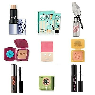 Benefit Minis❤Hello Happy,Dandelion/Gold Rush/Hoola Blush,Gimme Brow❤AUTHENTIC