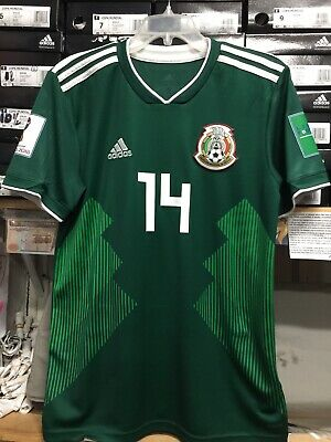 420a5138a7d Adidas Mexico Home Jersey  14 Chicharito Green Size Small Only