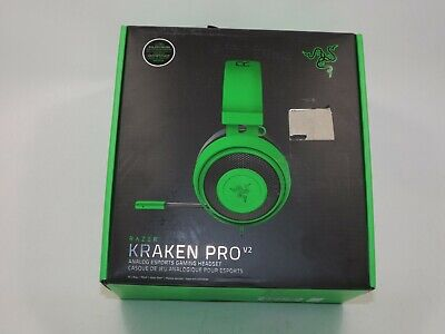 205939ae2af RAZER KRAKEN PRO V2 Analog Gaming Headset for PC/Xbox One/PS4 Green ...