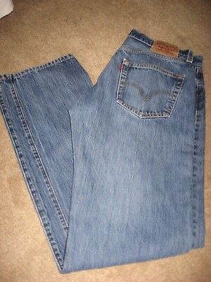 a21fb50653b NEW LEVIS 501 Destroyed Buttonfly Jeans 34 x 34 Bleached Trashed ...
