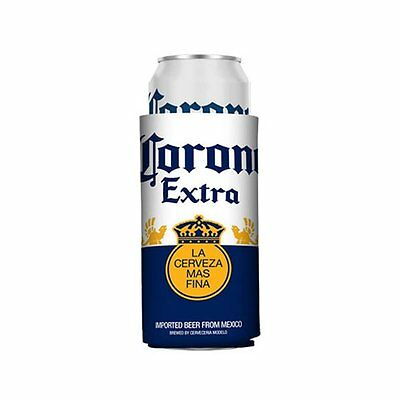 2 New Authentic Corona Extra 24 Oz Can Beer Koozie Coozie Coolie Koozies Golf