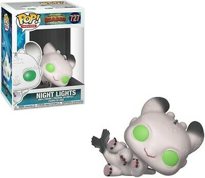 FUNKO POP! MOVIES: How to Train Your Dragon 3 - Night Lights 2 [New Toys] Viny