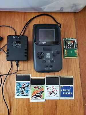 Turbo Express Play Jap Games Mod Recapped + EverDrive Micro SD Flash Card Roms