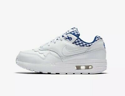 detailed look 59f35 64f59 New Girls Nike Air Max 1 QS (GS) Running Shoes Youth 4.5Y,