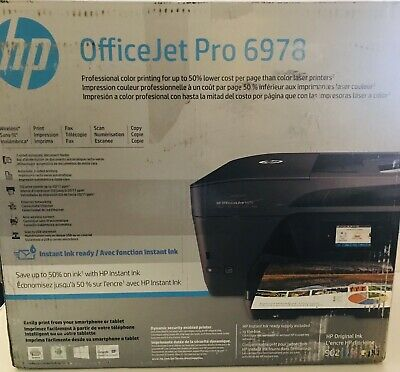 HP OfficeJet Pro 6978 Wireless All-in-One Inkjet Printer with Mobile Printing