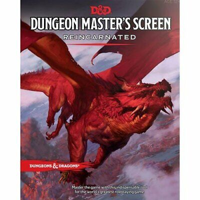 Dungeons  Dragons 5Th Rpg - Dungeon Master'S Dm Screen - Reincarnated (Fifth Ed