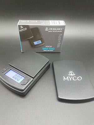 NEW 100% GENUINE ON BALANCE MYCO MM,100 DIGITAL POCKET MINI SCALES 100g X 0.01g