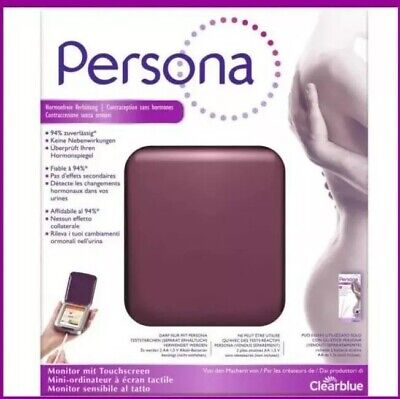 PERSONA Monitor Hormone Free Contraception Touch Screen Ovulation Test Home Kit