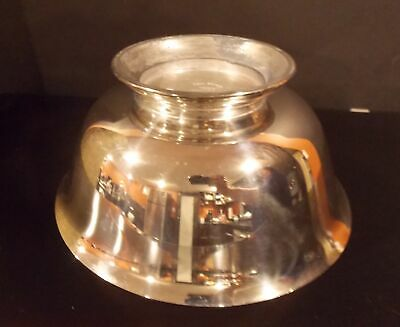 Fb Rogers Silver Co Paul Revere Reproduction Silver Plate Round Footed Bowl 8