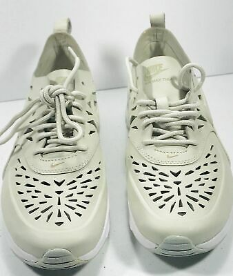 the best attitude 2f520 6f8bf Womens NIKE Air Max Thea Joli Cutout Sneakers Shoes Bone Ivory Size 9.5