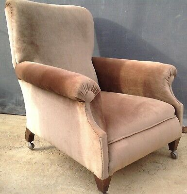 Edwardian or possibly Victorian Howard style armchair