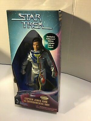 1999 Playmates Star Trek Captain James Kirk In Environmental Suit Target Only