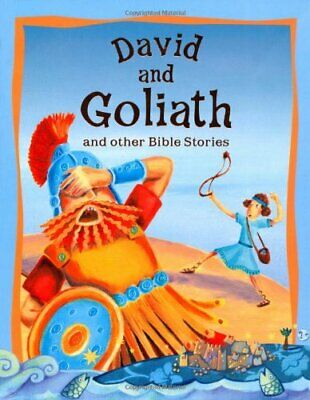 Bible Stories David and Goliath and Other Bible Stor... by Miles Kelly Paperback