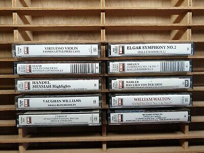 EMI EMINENCE Classical Cassette Tapes (×10) : TESTED
