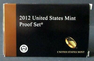 14 US Coins 2012 S United States Proof Set
