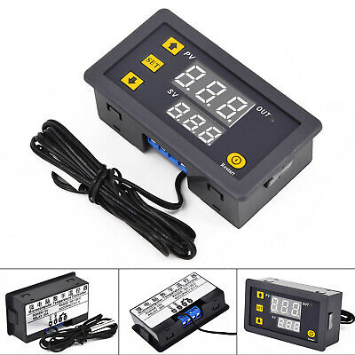 Temperature Controller Control Power Thermostat Relay DC 12V 20A Display New