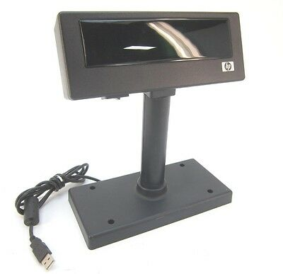 HP POS Display Pole LD220- HP 492240-001 493345-001-Missing Base -See listing