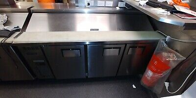Pizza Prep Counter 3 Door Refrigerated Pizza Cafe sushi etc. Centaur by Skope