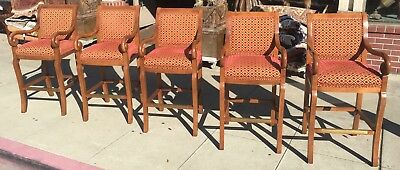 Magnificent 5 Hancock And Moore Barstools Bar Stools 2 000 00 Picclick Gmtry Best Dining Table And Chair Ideas Images Gmtryco
