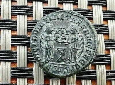Constantine I The Great 308-337 Ad Ae Follis Siscia Mint Ancient Roman Coin