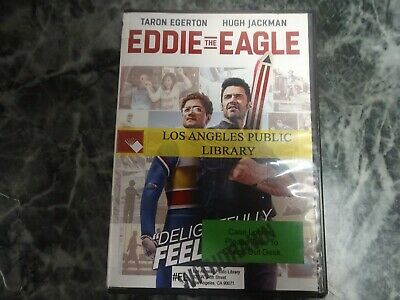 Eddie the Eagle (DVD, 2016) LIKE NEW FAST SHIPPING Hugh Jackman Taron Egerton !!