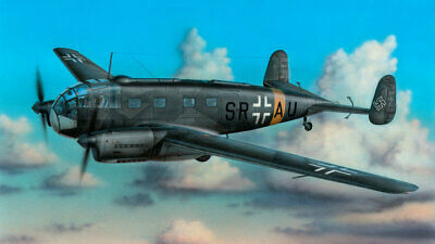 Gifts Art wall HD printed oil painting Canvas ww2 war Retro Vintage Fighter 112