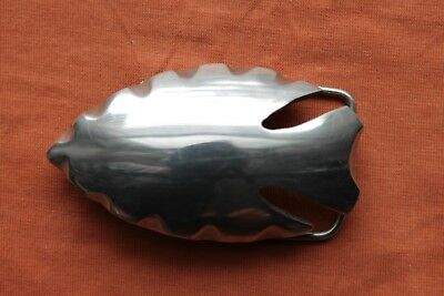 Vintage Stainless Steel Hand Made Arrowhead Western Belt Buckle