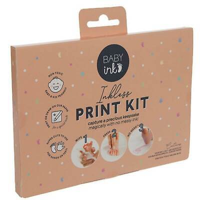 Baby Ink -Inkless Print Kit. (Gorgeous Gray) Capture A Precious Keepsake