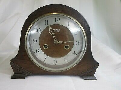 Authentic Vintage Smiths Enfield Striking Mantel Clock 1930S Restoration Project