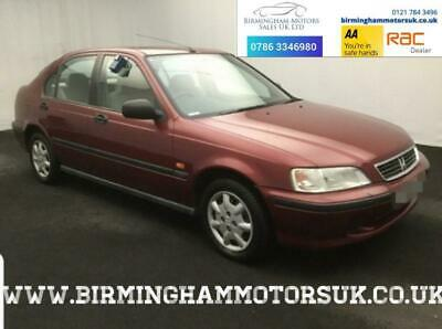 1999 (T Reg) Honda Civic 1.4 I AUTOMATIC 5DR Hatchback RED + 3 KEYS + LOW MILES
