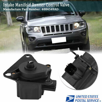 Intake Manifold Runner Control Valve 4884549AD Fit for 07-12 Jeep Compass Patriot 911-902 911902