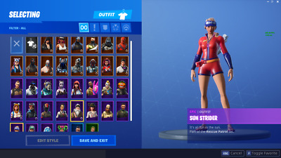 Random Fortnite Account  | 30-39 Skins | 50% Discount | 12 Month Warranty