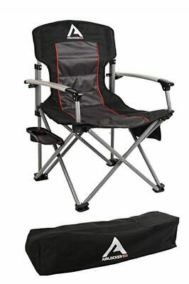 ARB 10500111A Air Locker Camping Chair with Storage Bag - Black New